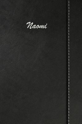 Naomi  Weekly Meal Planner Simulated Black Leather Track And Plan Your Meals 52 Week Food Planner / Diary / Log / Journal / Calendar Meal Prep And Planning Grocery List