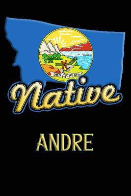Montana Native Andre  College Ruled Composition Book
