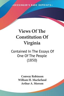 Views of the Constitution of Virginia