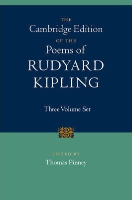 The Cambridge Edition Of The Poems Of Rudyard Kipling 3