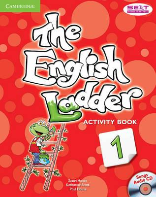 Astrosadventuresbookclub.com The English Ladder Level 1 Activity Book with Songs Audio CD Image