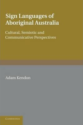 Sign Languages of Aboriginal Australia