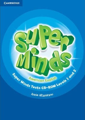 Super Minds American English Levels 1-2 Tests CD-ROM : Annie