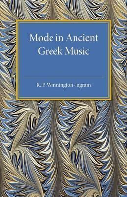 Mode in Ancient Greek Music