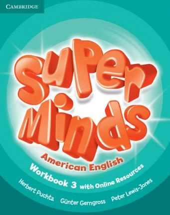 Super Minds American English Level 3 Workbook with Online Resources