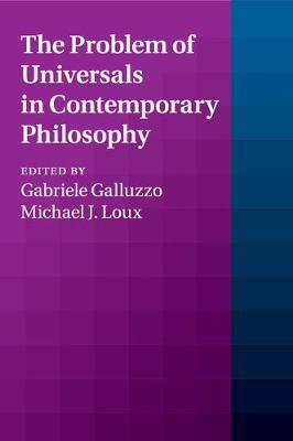 The Problem of Universals in Contemporary Philosophy