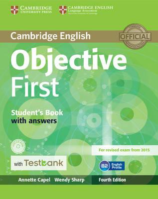 Objective First Student's Book with Answers with CD-ROM with Testbank