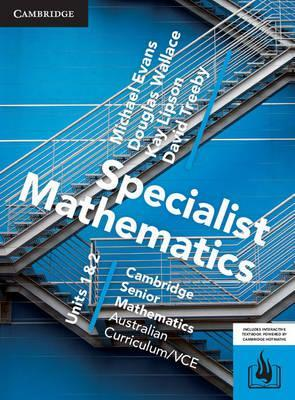 CSM VCE Specialist Mathematics Units 1 and 2 Print Bundle (Textbook and Hotmaths)