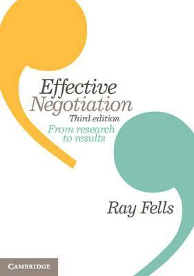Effective Negotiation : From Research to Results