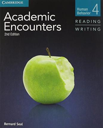 Academic Encounters Level 4 2 Book Set (Student's Book Reading and Writing and Student's Book Listening and Speaking with DVD)