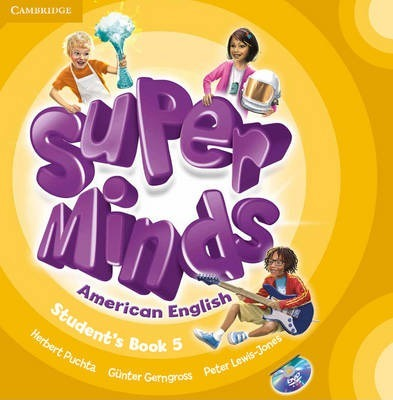 Super Minds American English Level 5 Student's Book with DVD-ROM