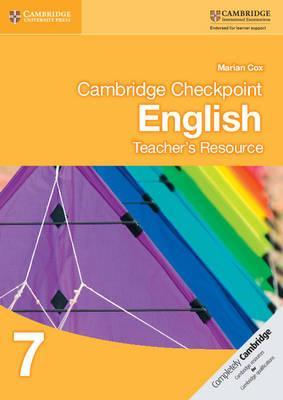 Cambridge Checkpoint English Teacher's Resource 7 : Marian Cox