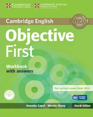 Objective: Objective First Workbook with Answers with Audio CD
