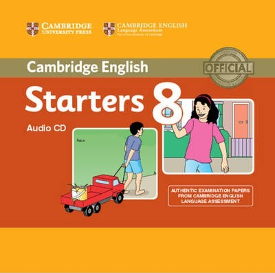 Cambridge English Young Learners 8 Starters Audio CD