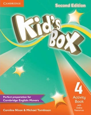 Kid's Box Level 4 Activity Book with Online Resources