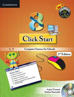 CBSE - Computer Science: Click Start Level 8 Student's Book with CD