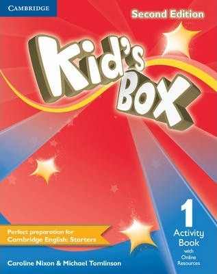 Kid's Box Level 1 Activity Book with Online Resources