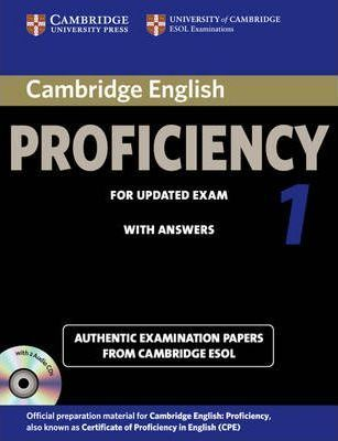 Cambridge English Proficiency 1 for Updated Exam Self-study Pack (student's Book with Answers and Audio CDs (2))