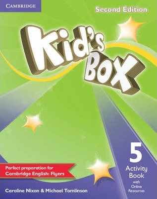 Kid's Box Level 5 Activity Book with Online Resources