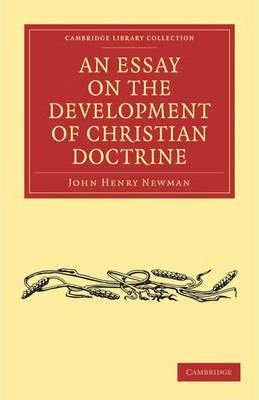 newman essay on the development of doctrine pdf