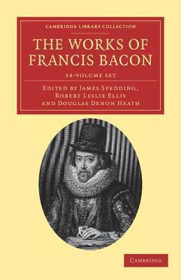 The Works of Francis Bacon 14 Volume Paperback Set