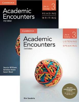 Academic Encounters Level 3 2-Book Set (R&W Student's Book with WSI, L&S Student's Book with Integrated Digital Learning)