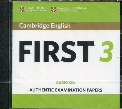 cambridge english first  FCE Practice Tests: Cambridge English First 3 Audio CDs : 9781108433747