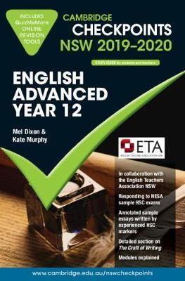 Cambridge Checkpoints NSW 2019-20 English Advanced and QuizMeMore