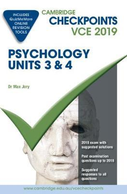Cambridge Checkpoints: Cambridge Checkpoints VCE Psychology Units 3 and 4 2019 and QuizMeMore