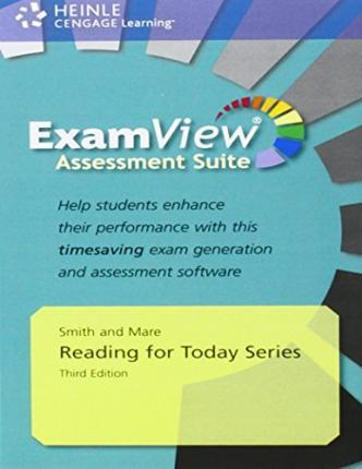 Reading for Today Assessment CD-ROM with ExamView (Levels 1-5)