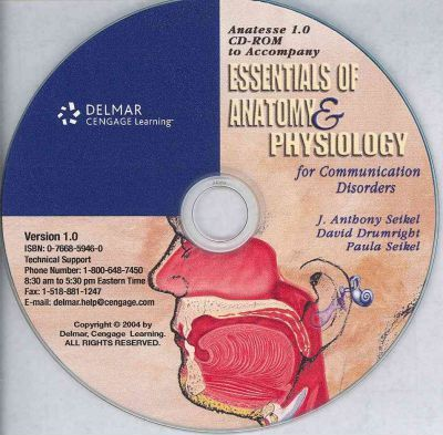 CD for Seikel/Drumright S Essentials of Anatomy and Physiology for ...