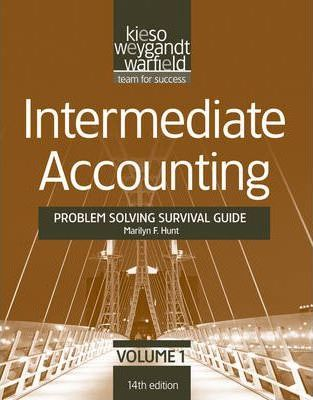 problem solving survival guide to accompany intermediate accounting rh bookdepository com Intermediate Accounting Solutions intermediate accounting problem solving survival guide (volume 2)