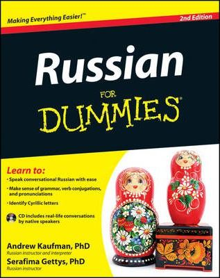 Russian For Dummies : Andrew Kaufman : 9781118127698