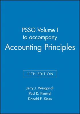 Pssg volume i to accompany accounting principles 11th edition pssg volume i to accompany accounting principles 11th edition fandeluxe Choice Image