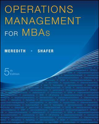 Operations Management for MBAs 5E