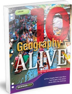 Geography Alive 10 for the Australian Curriculum Flexisaver & eBookPLUS
