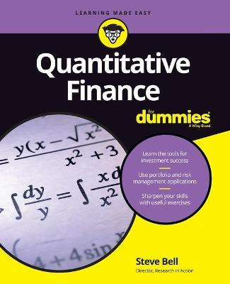 Image result for dummies guide quantitative finance