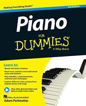 Piano For Dummies : Book + Online Video & Audio Instruction