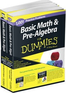 Basic Math and Pre-Algebra: Learn and Practice 2 Book Bundle