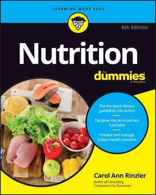 Nutrition For Dummies – Carol Ann Rinzler