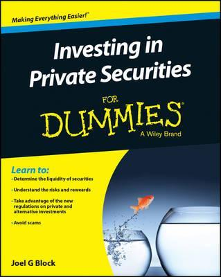 Ochlesitic investments for dummies ken yachechak investments