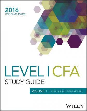 Level I Cfa Exam 2016