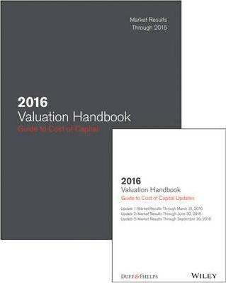 2016 Valuation Handbook - Guide to Cost of Capital +