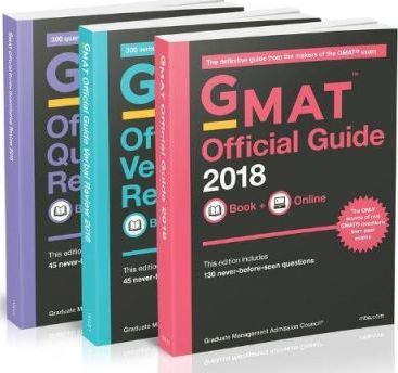 GMAT Official Guide 2018 Bundle: Books + Online