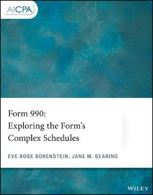 Form 990  Exploring the Form's Complex Schedules