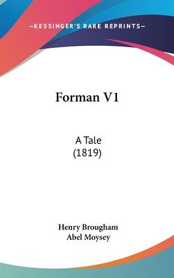 Forman V1 : A Tale (1819)