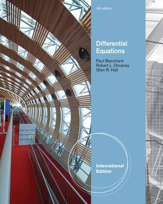 Differential Equations, International Edition (with DE Tools Printed Access Card)