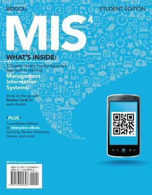 MIS4 (with CourseMate Printed Access Card)