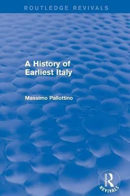A History of Earliest Italy