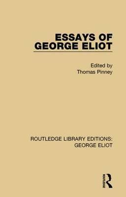 George eliot essays